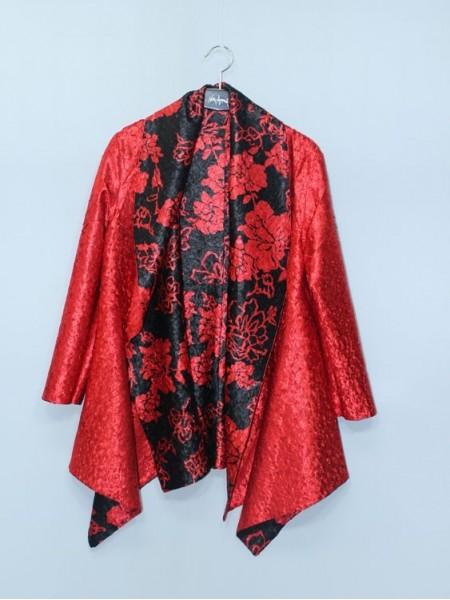 CHAQUETA ASIA REVERSIBLE BLACK&RED