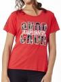 Camiseta ckor brillante rojo