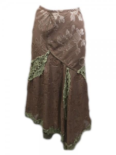 Falda brown